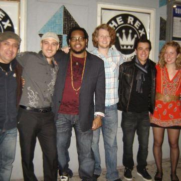 w/ Gabriel Palatchi Band @The Rex Hotel in Toronto